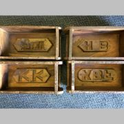 k64-60104 indian furniture single vintage brick mould