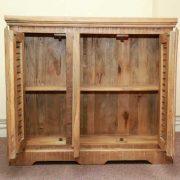 k64-60157 indian furniture sideboard mango unusual open