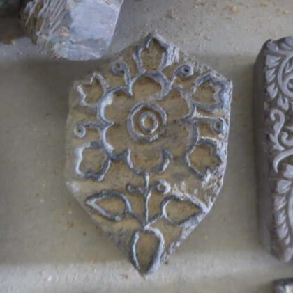 k64-60406 indian print block original l