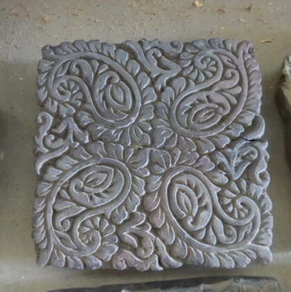 k64-60406 indian print block original m