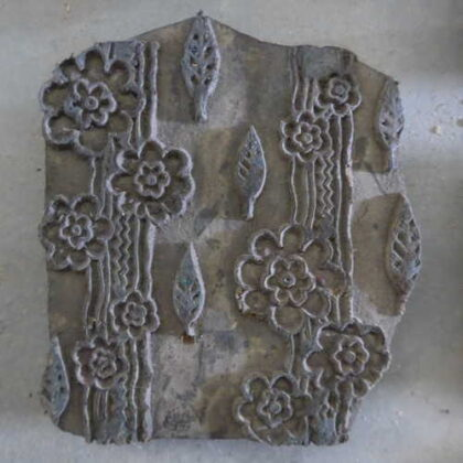 k64-60406 indian print block original o