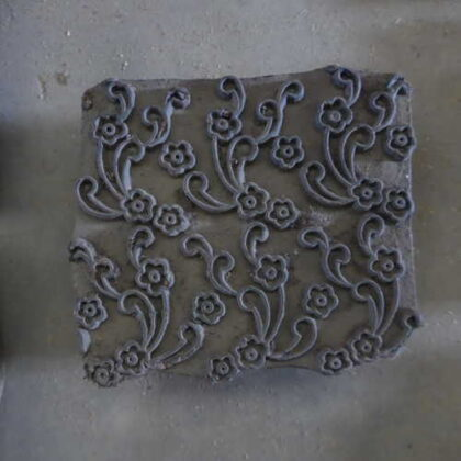 k64-60406 indian print block original s