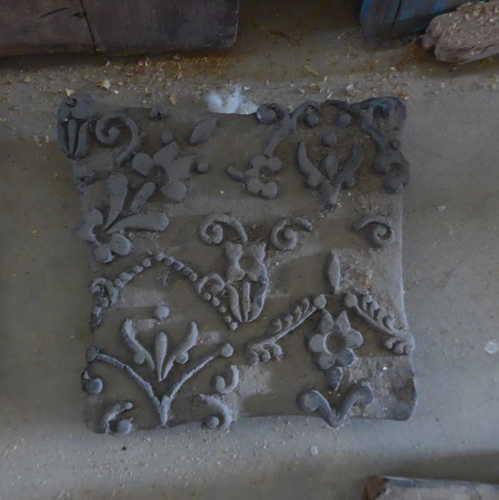 k64-60406 indian print block original u