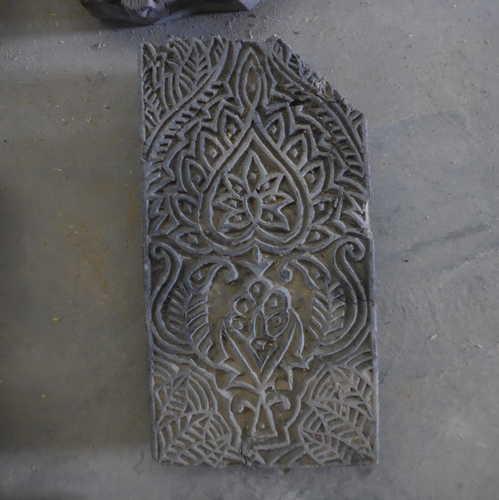 k64-60406 indian print block original w