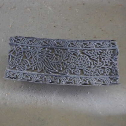 k64-60406 indian print block original c