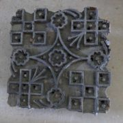k64-60406 indian print block original e