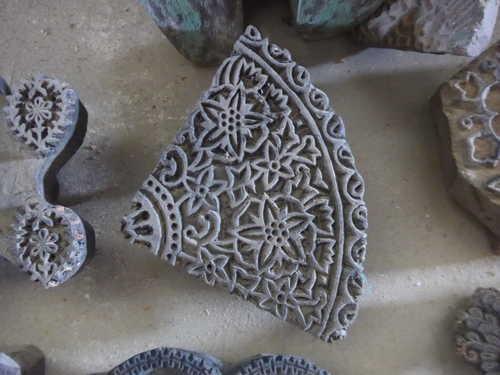 k64-60406 indian print block original g