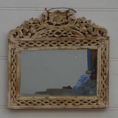 Decorative Hand Carved Mirror Frame - JUGs Indian Furniture