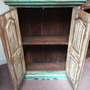 kh16 RS18 27 indian furniture cabinet medium shelved open front