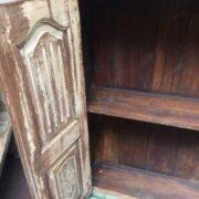 kh16 RS18 27 indian furniture cabinet medium shelved inside