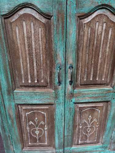 kh16 RS18 27 indian furniture cabinet medium shelved close