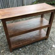 kh17-RS2019-42-a indian furniture old teak console table shelving left