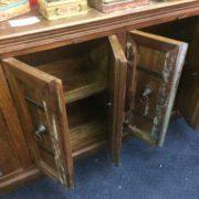 k67-90765 indian furniture sideboard reclaimed cupboards banding open