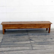 kh18 002 indian furniture bench teak front