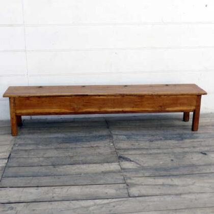 kh18 002 indian furniture bench teak front