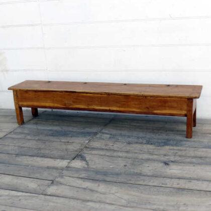 kh18 002 indian furniture bench teak angle