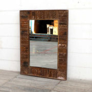 kh18 050 indian furniture mirror reclaimed
