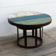 kh18 052 indian furniture side table reclaimed metal right