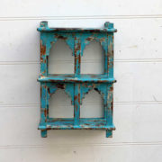 kh18 058 indian furniture shelving mihrab four hole front