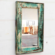 kh18 059 indian furniture mirror small reclaimed wall