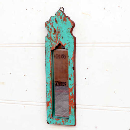 kh18 061 indian furniture mirror arch reclaimed left