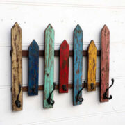 kh18 070 indian furniture hooks colourful fence wall