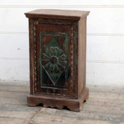 kh18 078 indian furniture cabinet bedside reclaimed carved