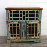 kh18 089 indian furniture cabinet multi glass front