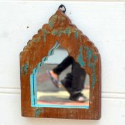 kh19 RS2020 001 india accessory mirror small arch green blue brown 2