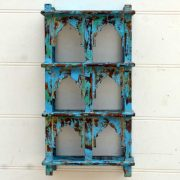 kh19 RS2020 001 india accessory mirror small arch green blue brown 4 kh19 RS2020 003 indian furniture 6 shelving wall blue mihrab 4