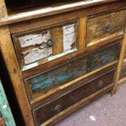 kh20 130 indian chest of drawers reclaimed bedroom left