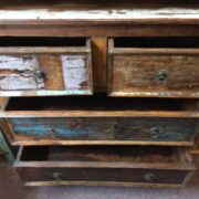 kh20 130 indian chest of drawers reclaimed bedroom open