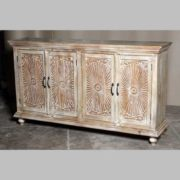 k69 1923 indian furniture sideboard large sunburst showroom