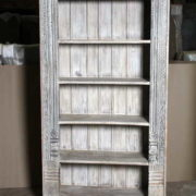 k69 1934 indian furniture bookcase large white front