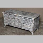 k69 1935 indian furniture diamond white stylish long mango trunk