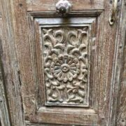 kh18 102 indian furniture cabinet reclaimed tall close left