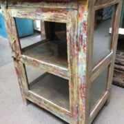 kh18 106 a indian furniture glass display cabinet right