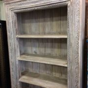 k69 1934 indian furniture bookcase large white upper