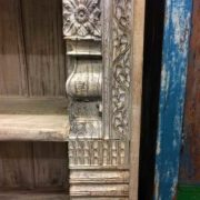 k69 1934 indian furniture bookcase large white right side