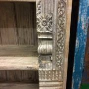 k69 1934 indian furniture bookcase large white right