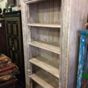k69 1934 indian furniture bookcase large white angle