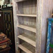 k69 1934 indian furniture bookcase large white angle