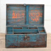 kh19 RS2020 035 indian furniture characterful blue old box open