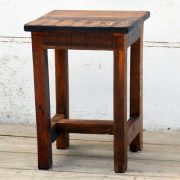 kh19 RS2020 059 indian furniture attractive small reclaimed table front