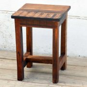 kh19 RS2020 059 indian furniture attractive small reclaimed table side