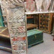 kh19 RS2020 058 indian furniture reclaimed carved mirror large corner left