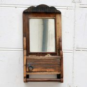 kh19 RS2020 060 indian hanging barbers mirror reclaimed front