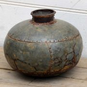 kh19 RS2020 081 indian vintage metal water pot