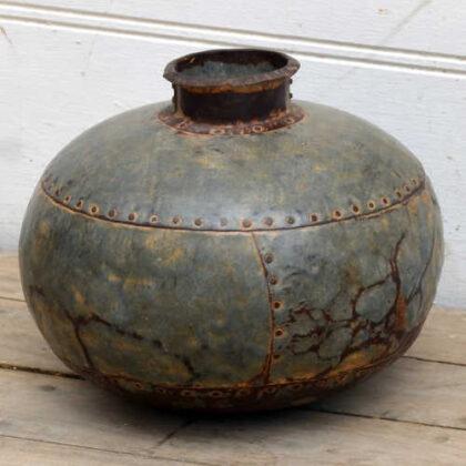 kh19 RS2020 081 indian vintage metal water pot