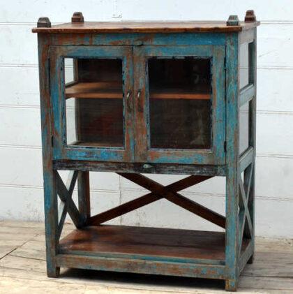 kh19 RS2020 090 indian blue showcase cabinet large side